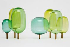 'The Woods' glass sculptured designed by StokkeAustad og Andreas Engesvik. Price upon request.