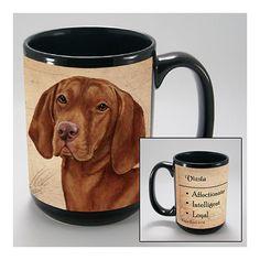 Faithful Friends Vizsla Dog Breed Coffee Mug
