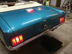 1965 Convertible Mustang  3rd brake light