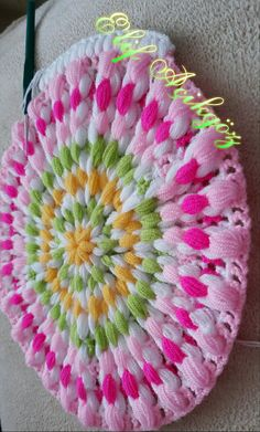 This Pin was discovered by azi Crochet Doilies, Crochet Stitches, Crochet Patterns, Diy Clothes, Color Combinations, Crochet Projects, Free Crochet, Diy And Crafts, Blanket