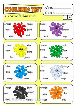 Worksheet French Worksheets For Beginners french days free printable and worksheets on pinterest colours