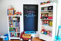 room makeover: playroom at grandma's house