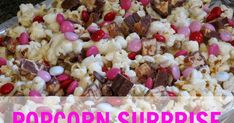 Who doesn't love popcorn? Okay,who doesn't love popcorn with melted marshmallow on top? Okay NOW...who doesn't love popcorn, me...