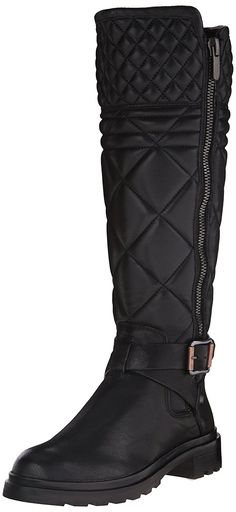 Calvin Klein Jeans Women's Skye Motorcycle Boot >>> Click on the image for  additional