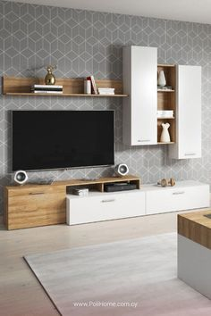 Living room designs – Home Decor Interior Designs Home Living Room, Interior Design Living Room, Living Room Decor, Design Bedroom, Lcd Wall Design, Karton Design, Tv Unit Decor, Tv Unit Furniture, Modern Tv Wall Units