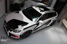 Jon Olsson look - Prowrap Eindhoven Pick Up, Vans Camo, Audi Wagon, Audi Rs3, Camo Designs, Car Wrap, Art Cars, Cars And Motorcycles, Vehicle Wraps