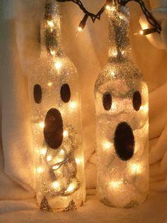 Cute Ghost Halloween Luminaries