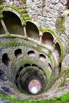 The Initiation Well, in Sintra, Portugal