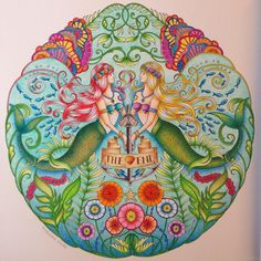 @johannabasford #johannabasford #johannabasfordlostocean #lostocean #coloring #colouring #coloringbook #oceanodellemeraviglie
