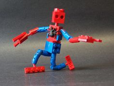 Lego Marvel characters by Matt Armstrong.