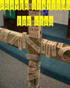 PRAYER STATION IDEAS FOR KIDS!!!!