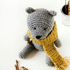 "1,322 Likes, 20 Comments - LoveCrochet (@lovecrochetcom) on Instagram: ""What are you crocheting today? This classic Teddy Bear is one my most loved designs, I've made it…"""