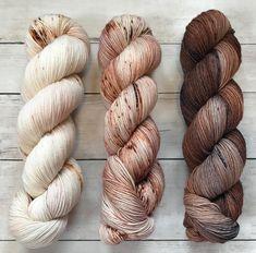 VINTAGE, new colorway, ROSE', and WOODSMOKE #barnyardknits barnyardknits #yarnlove #knitting #ravelry #yarnaddict #knittingaddict #crochet…