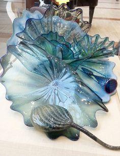 Mayo Clinic Art: Dale Chihuly glass art