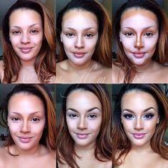 10 Incredible Makeup Contour Transformations#photo=1#photo=1#photo=1