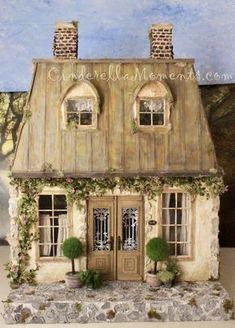 Miniature Rooms, Miniature Houses, Miniature Furniture, Cinderella Moments, Putz Houses, Doll Houses, Victorian Dollhouse, Modern Dollhouse, Victorian Cottage