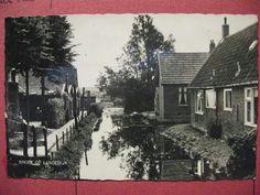 Sloot tussen Julianastraat en de Wilhelminastraat in Broek op Langedijk.