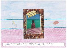 """Couverture réalisée par Jasmine à partir du livre """"Maman Dlo"""" d'Alex Godard. Pour voir mon livre, il faut cliquer sur mon dessin."""