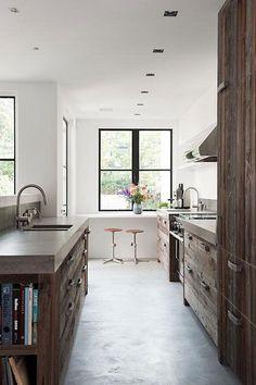 Rustic kitchen charm, beautiful light