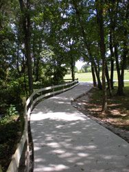 Time to enjoy the warmer weather! Cambridge Trail in Rogers