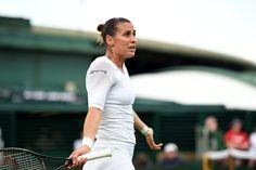 Day Three Ladies' Action Flavia Pennetta during her Second round match - Billie Weiss/AELTC