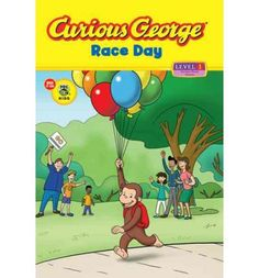 Professor Wiseman needs help training for an upcoming race, and George is the right monkey for the job. But Professor Wiseman thinks running is boring. George has to show her that running can be fun. Full color.