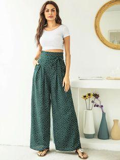 Flowy Pants, Loose Pants, Wide Leg Pants, Boho Fashion, Fashion News, Autumn Fashion, Casual Wear, Casual Outfits, Square Pants