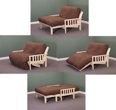 Savannah Lounger in Full and Twin Sizes The Savannah Lounger is made of heavy-duty poplar and is a great frame for smaller spaces.  Since the futon frame is unfinished, you can stain or paint it any color to match your decor; or simply leave it unfinished and enjoy the natural beauty of the wood!  This item is available in either a full-size or a twin -size version.