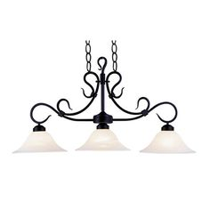 Found it at Wayfair - Buckingham 3 Light Kitchen Island Pendant