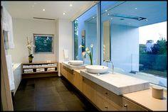 contemporary mansion interior | Photos bathroom view in simple rectangular shape house design ideas ...