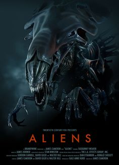 Aliens awesome poster.