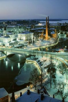 Finland, another place I want to visit! Cities In Finland, Finland Travel, Helsinki, Top Travel Destinations, Travel Things, Scandinavian Countries, Winter Travel, Winter Scenes, National Parks