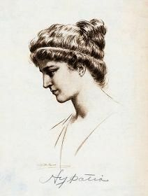 Mathematician, Philosopher & Teacher Hypatia of Alexandria, featured on 1st July, 2013: http://matriline.org/nubert-says/2013/7/1/once-a-long-long-time-ago