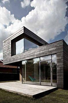 Hus bygget af arkitekt: studiobaki - Fotograf: Tim Bjørn Wahlfried