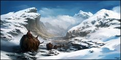 Winter Travellers by andreasrocha on deviantART