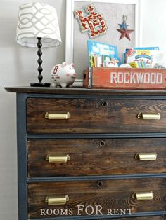 I was thrilled when we found this dresser at a local yard sale last summer. I'm really blessed that my husband LOVES to yard sale (honestly a lot more than I do) and he is a hard nosed bargainer. I was ready to happily pay the $25 they wanted for the piece, so I send …