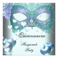 Masquerade Quinceanera 15 Teal Birthday Party Personalized Announcement today price drop and special promotion. Get The best buyThis Deals          Masquerade Quinceanera 15 Teal Birthday Party Personalized Announcement Online Secure Check out Quick and Easy...