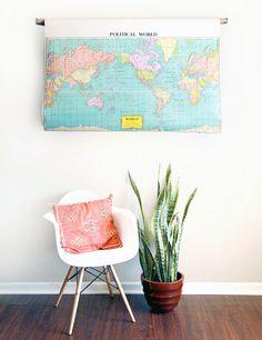 Chair & Plant