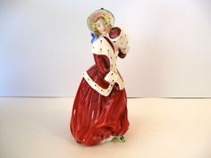 Vintage Royal Doulton Christmas Morn Figure HN1992 Modeled by Peggy Davis / Signature on Reverse #22 by Picabosplace on Etsy