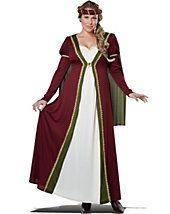 Plus Size Renaissance Costumes - Adult Plus Size Medieval Maiden Costume