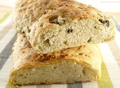 Pan de queso feta y pan de aceitunas - MisThermorecetas.com