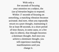∆ The Law of Attraction...                                                                                                                                                                                 More