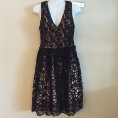 "🎉HOST PICK🎉REDUCED!! NWT! FCUK black/nude dress Brand new, stunning dress!! Style is ""Daisy"".  Perfect for wedding season or a special event this spring or summer!!😃.  🌟Price is negotiable🌟 French Connection Dresses"