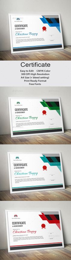#Certificate - Certificates Stationery Download here: https://graphicriver.net/item/certificate/19436192?ref=alena994