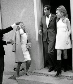 Jane Fonda and Roger Vadim, 1965