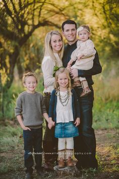 az fall family mini session. what to wear. beautiful family