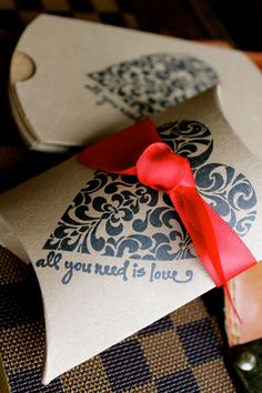 Wedding / Shower / Party Favor Boxes Set by JacquelynVaccaro