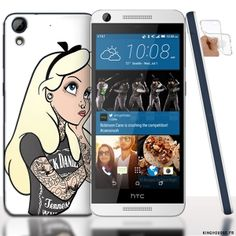 Coque HTC Desire 626 Alice Delice en Silicone. #HTCDesire #626 #Alice