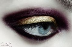 Xmas Glam makeup by *Chuchy5 on deviantART