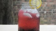 Blackberries, blueberries and vodka combine to make a delicious summertime cocktail!